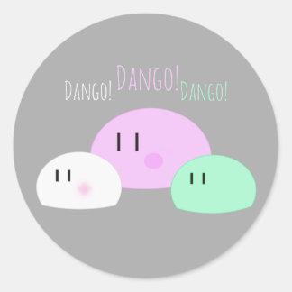 """Dango, Dango, Dango!"" Classic Round Sticker"