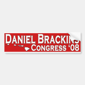 Daniel Brackins for Congress Bumper Sticker