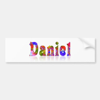 Daniel Bumper Sticker