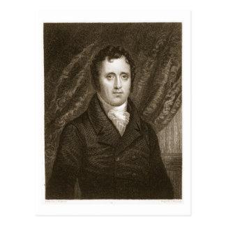 Daniel D. Tompkins (1774-1825) engraved by Thomas Postcard