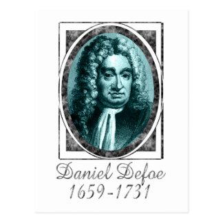 Daniel Defoe Postcard