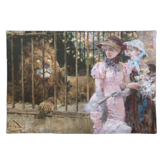 Daniel Hernández Morillo: At the Lion Cage Placemats