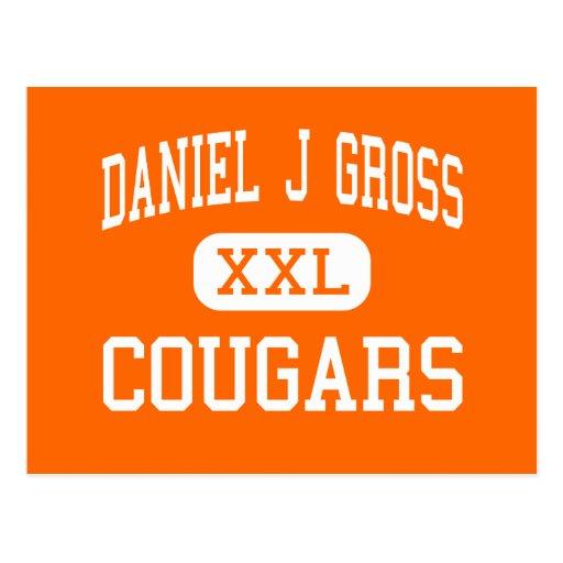 Daniel J Gross - Cougars - Catholic - Omaha Post Cards