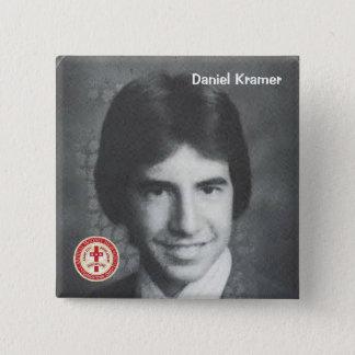 Daniel Kramer 15 Cm Square Badge