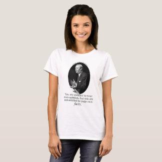 Daniel Patrick Moynihan quote T-Shirt