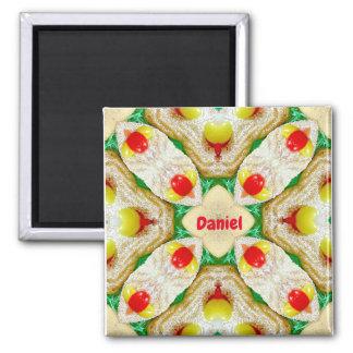 DANIEL ~ Personalized Easter Pattern Fractal ~ Magnet