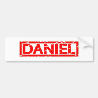 Daniel Stamp Bumper Sticker