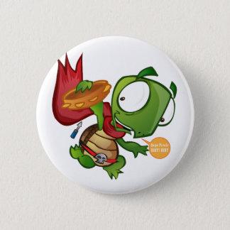 Daniel The Turtle 6 Cm Round Badge