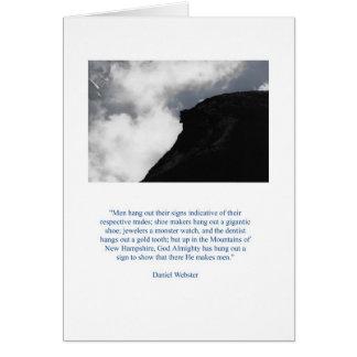 Daniel Webster's Old Man Card