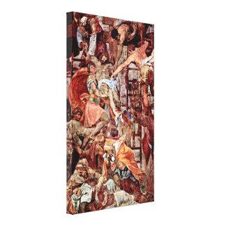 Daniele Ricciarelli - Cross Stretched Canvas Print