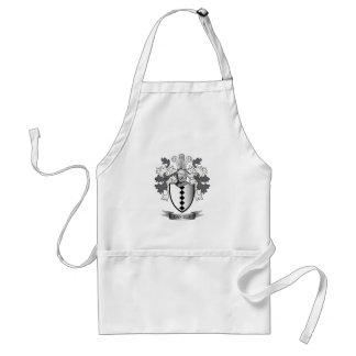 Daniels Family Crest Coat of Arms Standard Apron