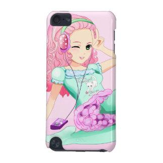 DaniLamb Headphones Anime Girl Kawaii iPod Touch 5G Case