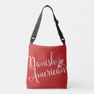 Danish American Entwined Hearts Bag