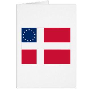 Danish-American Flag Greeting Cards