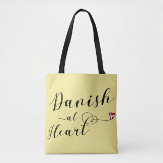 Danish At Heart Grocery Bag, Denmark Tote Bag