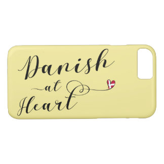 Danish At Heart Mobile Phone Case, Denmark iPhone 8/7 Case