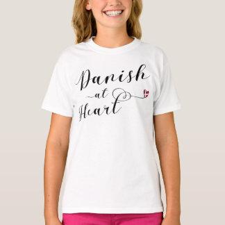 Danish At Heart Tee Shirt, Denmark