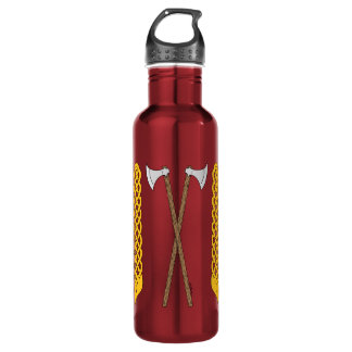 Danish Axes Crossed with Plaitwork 710 Ml Water Bottle