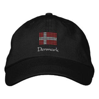 Danish Cap - Danish Flag Hat Embroidered Hat