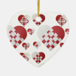 Danish Christmas Hearts Ornaments