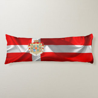 Danish flag body cushion