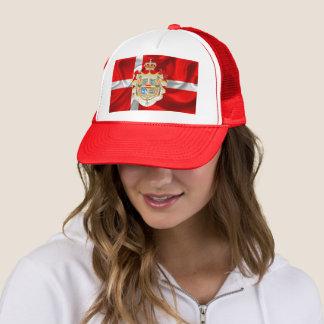 Danish flag-Coat of arms Trucker Hat