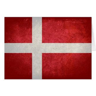 Danish Flag Note Card
