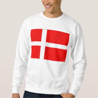 Danish flag of Denmark for Danes Sweatshirt