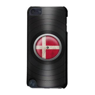 Danish Flag Vinyl Record Album Graphic iPod Touch (5th Generation) Cases