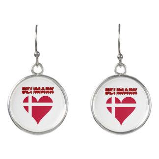 Danish heart earrings