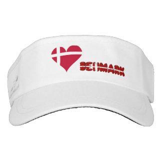 Danish heart visor