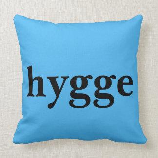 Danish language hygge means comfort cushion