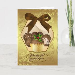 Danish christmas cards zazzle danish luxury chocolate christmas greeting card m4hsunfo