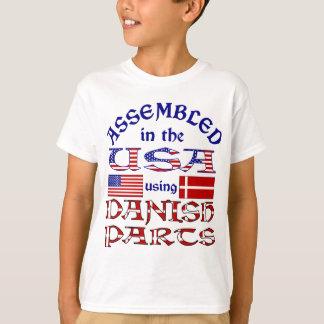 Danish Parts Front T-Shirt