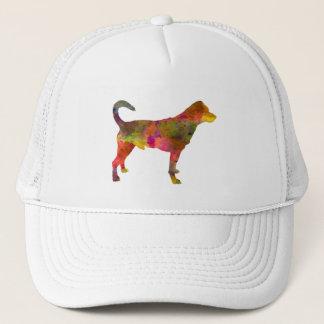 Danish swedish farmdog 01 in watercolor 2 trucker hat