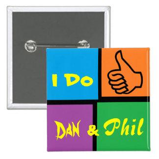 Danisonfire & AmazingPhil Duo Fan Badge
