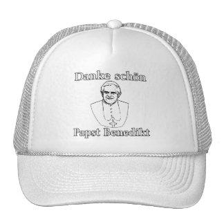 Danke Schon Pope Benedict Cap