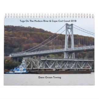 Dann Ocean Towing 2018 Wall Calendar