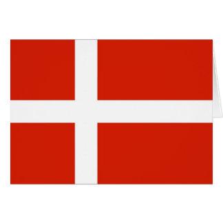 Dannebrog; The Official Flag of Denmark Card
