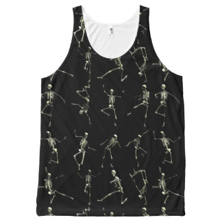 Danse Macabre All-Over Print Singlet