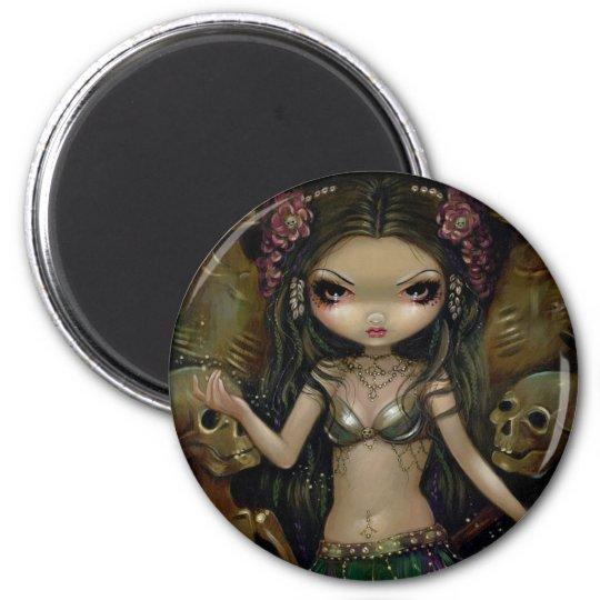 """Danse Macabre :  Tribal Fusion"" Magnet"