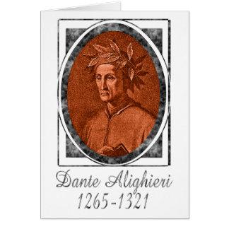 Dante Alighieri Card