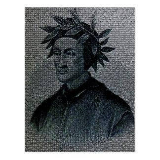 Dante Alighieri Portrait Postcard