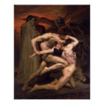 Dante And Virgil In Hell (1850) Print