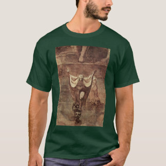 Dante And Virgil In The Ice Of Kozythus. By Johann T-Shirt