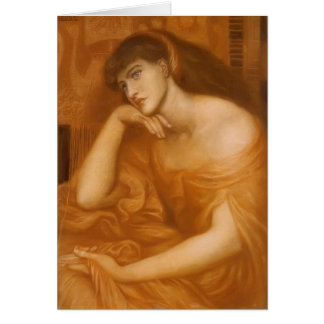 Dante Gabriel Rossetti: Penelope Greeting Card