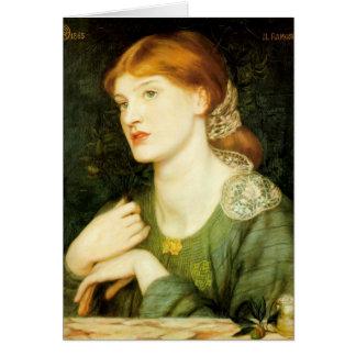 Dante Gabriel Rossetti- The Twig Card