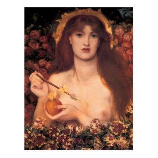 Dante Gabriel Rossetti- Venus Verticordia Postcard