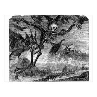Dante's Death in the Sky postcard