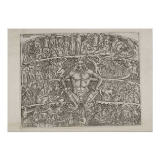 Dantes inferno of Boccelli Poster